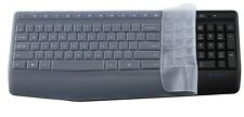 Clear Silicone Keyboard Protectors Covers guard For Logitech MK345 K345