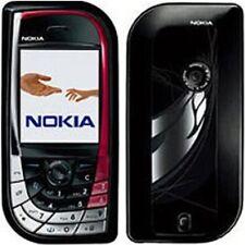 Nokia 7610 Schwarz-Rot (Ohne Simlock)Smartphone Rarität Mega-Cam & Digi-Spaß TOP