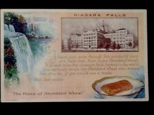 c1920's Shredded Wheat Factory, Niagara Falls, NY Vintage WB Postcard