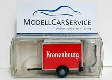 """VK Modelle 1/87 (H0): 04211 Pkw-Kühlkoffer-Anhänger """"Kronenbourg Bier"""""""