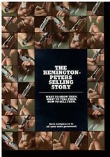 1970s The Remington Peters Selling Story Booklet Guns & Ammo