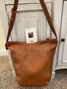 Vintage 1996 Coach Sonoma 4916 XL Tan Pebbled Leather Shoulder Bag Vguc Purse