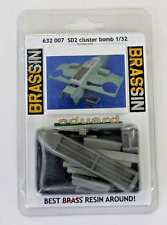 Eduard Bf-109E, SD2 Cluster Bomb Conversion, Resin Upgrade 1/32 632 007 ST DO