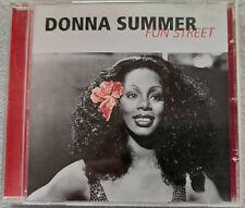 Donna Summer – Fun Street. CD, Compilation 2000. Denmark. Disco. CD Bon état
