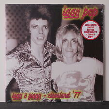 IGGY POP 'Iggy & Ziggy Cleveland '77' Ltd. Edition COLOUR Vinyl LP (Bowie) NEW