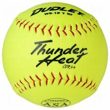 "Dudley Thunder Heat 12"" Optic Softball Cor 44 (18 Dozen) 216 Balls"