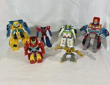 Playskool Transformers Rescue Bots Optimus P?rime bumblebee Lot Of 6!