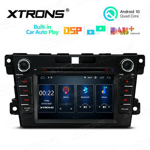"""7"""" Android 10.0 Car Radio DVD GPS Stereo DSP Wired Car Auto Play for Mazda CX-7"""