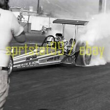 Jerry Ruth Pay N Pak Rear Engine Dragster - Vintage Race Negative