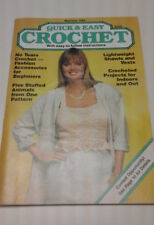 QUICK AND EASY CROCHET MAY/JUNE ISSUE 1988