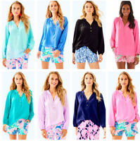 New Lilly Pulitzer Elsa Top, Solid Color