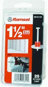ITW BRANDS Ramset 00804 .300 x 1-1/2-Inch Drive Pin, 25-Pack