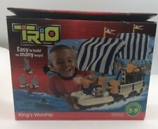 Fisher Price Trio Blocks Building Set Kings Warship