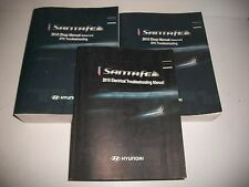 2010 HYUNDAI SANTE FE INCOMPLETE SHOP MANUAL SET W/ELECTRICAL MANUAL NO VOL. 1