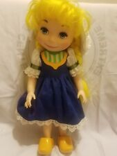 Disney Animators It's A Small World Collector's Doll Holland Complete Singing