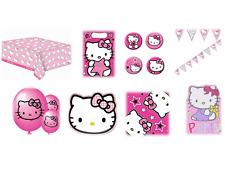Hello Kitty - Fiesta Cumpleaños Gama (vajilla, Globos & Decoración) GEMMA OLD