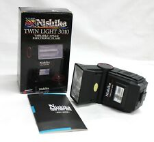 [Ex+5] Nishika Twin Light 3010 Electronic Flash for N8000 3-D Camera from Japan