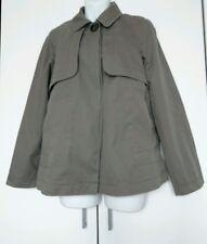 zara coat mac size S khaki olive womens