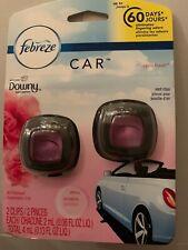 Febreze Car Air Freshener Downy April Fresh Vent Clips