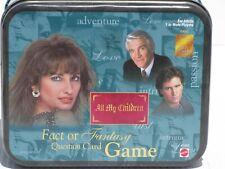 "Mini Tin Box, with, ""All My Children"" Game"