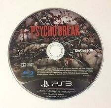 USED PS3 Game Disc Only Psycho Break JAPAN Sony PlayStation 3 The Evil Within