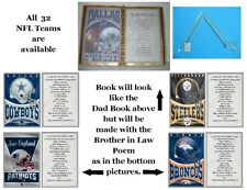 Brother in Law NFL Birthday,Father's Day,Valentine's Day or,Christmas Gift