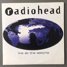 RADIOHEAD - LIVE AT THE ASTORIA - PROMO FRENCH CD 3 TRACKS 1995 RARE