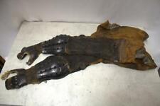 YP54 Japanese Antique gauntlets Shinogote iron chain # ninja samurai armor