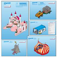 Playmobil manuales de instrucciones * conjuntos de anuncio múltiples * * 4000 - 4999 * reemplazos