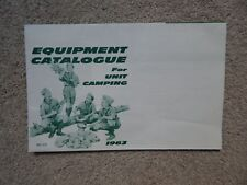 BSA~BOY SCOUTS OF AMERICA~VINTAGE 1963 CAMPING EQUIPMENT CATALOGUE & MORE~L@@K!