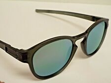 Authentic Oakley OO9265-05 Latch Matte Olive Ink Emerald Iridium Sunglasses