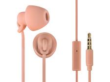 Auriculares de botón - Thomson In Ear 3008, Sensibilidad 96 dB, Silicona, Rosa
