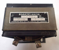 HAMMOND REACTOR 195P5 30MH INDUCTANCE 5A DC AMPERES