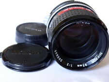 nikon Nikkor 85mm F2 With Caps.