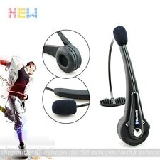 Micro USB over the Head Wireless Bluetooth boom Mic Headset for PS3/ PC/ Phones