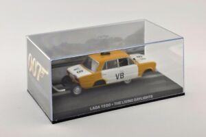 1/43 DieCast Car Diorama Lada 1500 Police James Bond 007 The Living Daylights