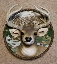 "1995 Bradford Exchange ""The Buck"" From Nature's Nobility Collection 8"" 3D Plate"