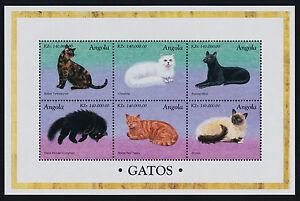 Angola 1023 MNH Cats
