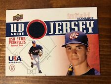 2009 Signature Stars USA Star Prospects UD Game Jersey Rick Hague Patch