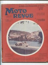 Moto Revue N°346  ; 26 octobre  1929 :  essais 350 cmc DURANDAL bloc moteur