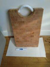 Butchers Block Wooden Chopping Board With Rope Handle