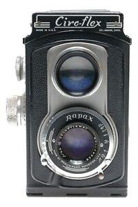 Ciro-Flex Model E TLR 120 Film 6x6 Camera Velostigmat 3.5/85mm