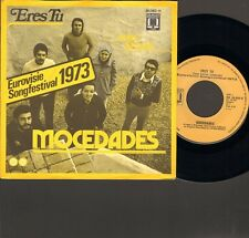 """MOCEDADES Eres Tu SINGLE 7"""" Eurovision EUROVISIE SONGFESTIVAL 1973"""