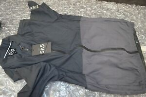 New SEARCH and STATE SAS S2-R JERSEY Gravel Road Medium Mens Black