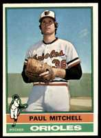 1976 Topps Paul Mitchell Baltimore Orioles #393