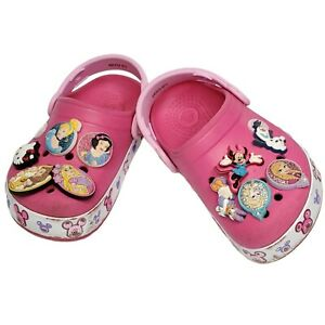 Crocs Mickey Mouse Light Up Girls with Jibbitz Size 9