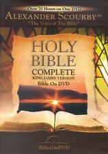 Holy Bible Complete King James Version  Alexander Scourby narrates * NEW *