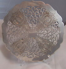 Vintage / Antique Older Style TOWLE Trivet Silverplate with Screw-On Feet