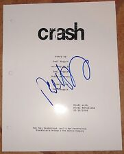Paul Haggis Signed Crash Script Authentic Autograph Full 115 Page Oscar Winner