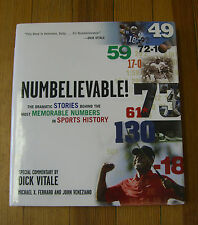 Numbelievable!, M. Ferraro,(1st/Signed)John Veneziano, Dick Vitale, (com.) 2007
